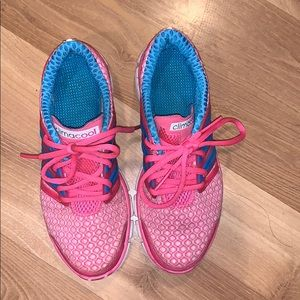 Adidas climacool big girl shoes pink size 4